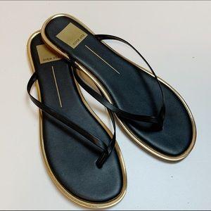 Dolce Vita Black Stella Dawn Flip Flop Sandals